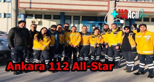 Ankara 112 Kıyasıya All-Star Ambulans YA..