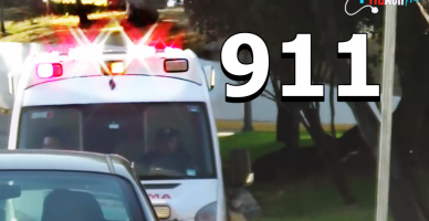 911 AMBULANSINDA Mexico City de VAKAYA GİDİŞ