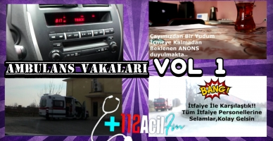 Ambulans Vakaları Vol 1 HD